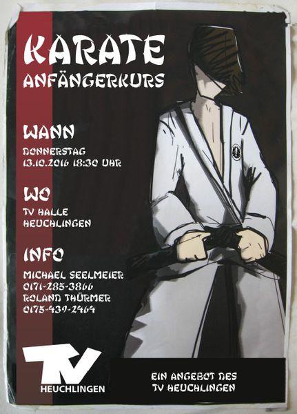 Karate-Neueinsteigerkurs beim TVH